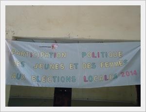 Kédougou : Lancement du projet « Participation des jeunes et des femmes aux élections locales de 2014 »