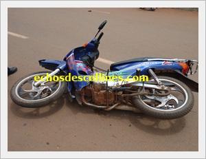 Kédougou : Accident de  la circulation, un cyclomoteur cogne mortellement une femme au quartier Dandé- Mayo.