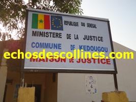 Kédougou : Traitement de dossiers à la maison de justice, les conflits fonciers et les conflits conjugaux raflent la mise