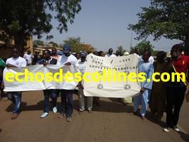 Vidéo fête du travail à kédougou 1er Mai 2014