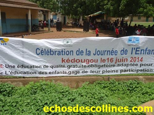 Kédougou: Célébration de la journée de l'enfant africain