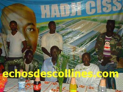 Kédougou: Mamadou Hadji Cissé candidat du Pds étale ses promesses à Dinguessou