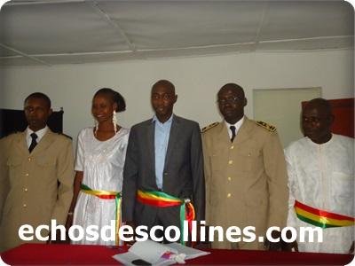 Kédougou: Mamadou Hadji Cissé, élu maire et officiellement installé