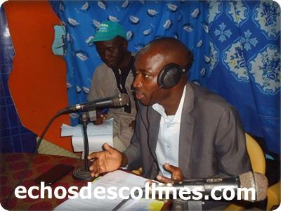 Hadji Cissé,le député maire de Kédougou  rend hommage à Moussa Danfakha