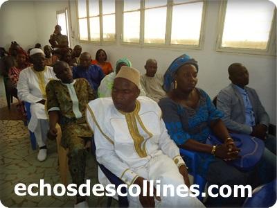 Conseil départemental de Kédougou(voici le bureau installé)