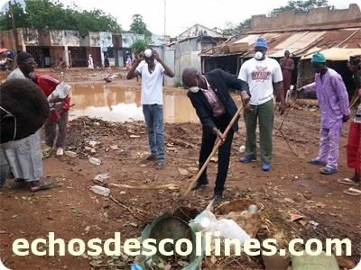Kédougou: Lutte contre l'insalubrité