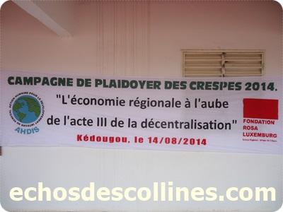 Kédougou: Plaidoyer pour le désenclavement de la région