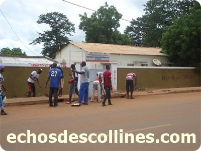 Mamadou Hadji Cissé déclenche l'opération Kédougou ville propre