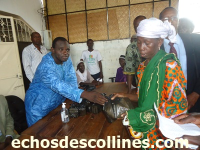 Kédougou: Lutte contre le virus Ebola, l'ong SADEV encourage le lavage des mains au savon