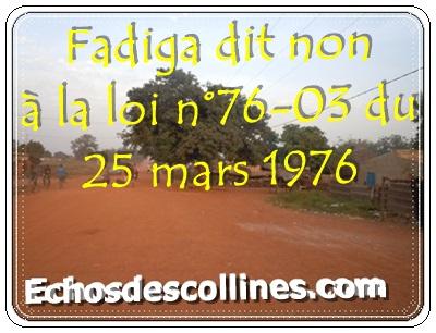 Kédougou: Fadiga réclame un statut autre que celui de village de reclassement social