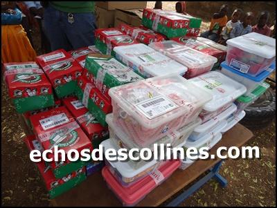Kédougou: Les élèves de l'école maternelle municipale reçoivent des cadeaux pour Noël