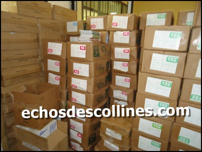Kédougou: 9,3 millions de FCFA de fournitures scolaires aux écoles de la commune
