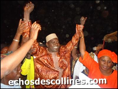 Me Sidiki Kaba, ministre de la justice, garde des sceaux à Kédougou