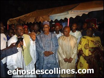Kédougou accueille Me Sidiki Kaba ministre de la justice garde des sceaux.
