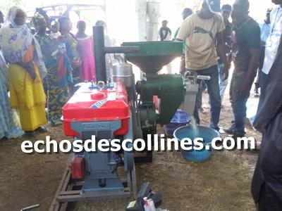 Kédougou: Le PAM dote 3 GIE de Producteurs en décortiqueuses