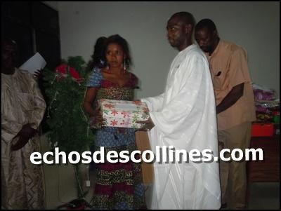 Kédougou: Le conseil municipal couvre son personnel de cadeaux de noël