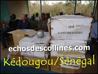 Kédougou: Un lot de matériels didactiques et pédagogiques au lycée de Mako