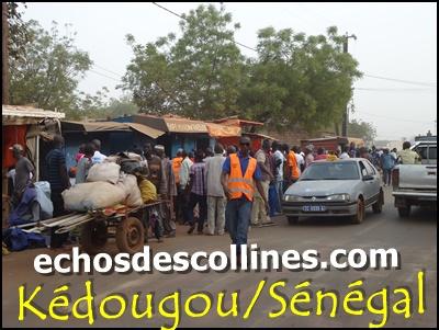 Kédougou: Mamadou Hadji Cissé fait déguerpir des marchands qui occupent…