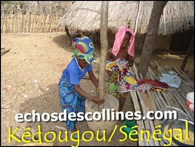 Kédougou: fatiguée du travail qu'on lui impose, elle pleure pour demander au secours