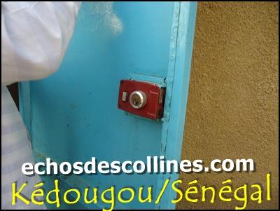 Kédougou: On bloque des serrures de toute une école pour perturber les cours