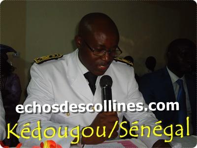 Kédougou, William Manel installé comme cinquième gouverneur