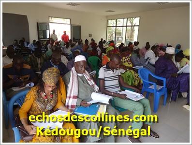 Kédougou: Le conseil municipal a voté son budget