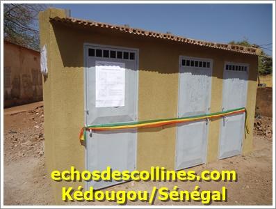 Kédougou: APECEK dote une école élémentaire d'un bloc de toilettes