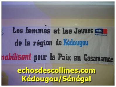 Kédougou: Les femmes et les jeunes se mobilisent pour la paix en Casamance