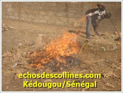 Kédougou : Un incendie ravage le domicile des enseignants à Bambaya 2