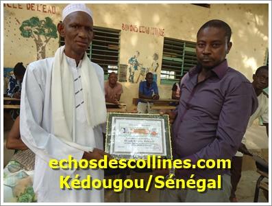 Kédougou : Les parents d'élèves récompensent des enseignants