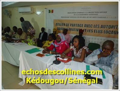 Kédougou: Les acteurs s'approprient du programme national de bourses de sécurité familiale