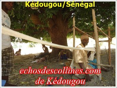 Kédougou: Portrait de Daby Diallo, un tisserand qui exprime ses regrets