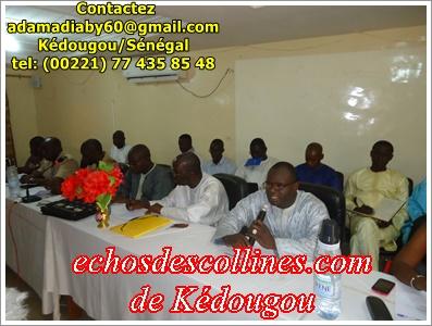 Kédougou: Revue régionale de l'Education, les acteurs en dialogue social et technique