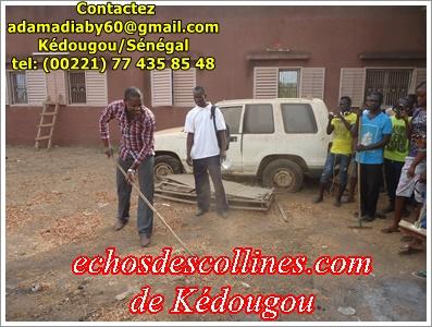 Kédougou: Surprise, Des élèves donnent des coups de balais à l'IEF