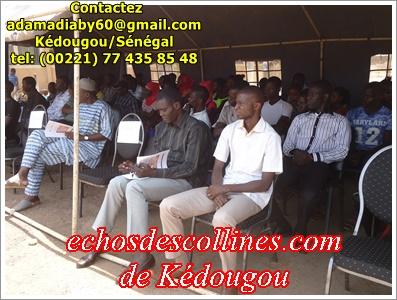Kédougou: Jàngandoo s'invite au lycée technique mamba Guirassy