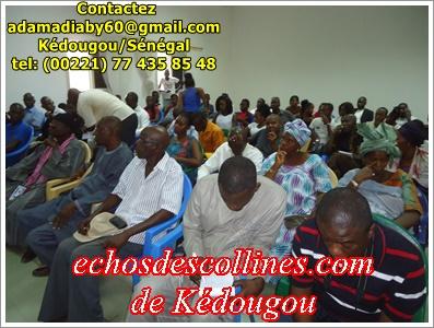 Kédougou: Les populations se confient aux députés