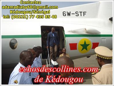 M Mohamed Boun Abdallah Dione, requinque la jeunesse de Kédougou