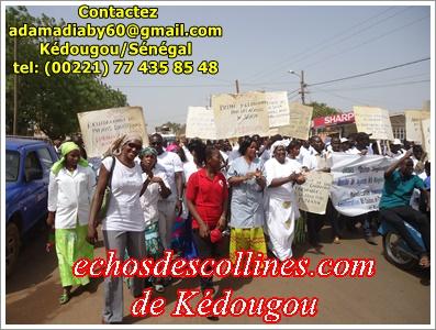 Kédougou: Les travailleurs soumettent leurs doléances à l'autorité ce 1er mai