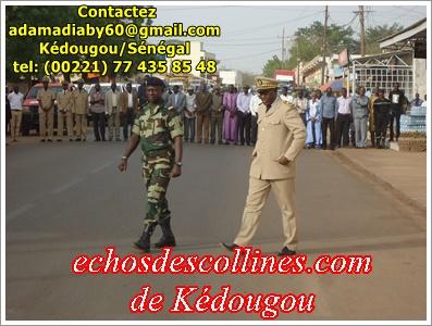 Kédougou: Pourquoi faut-il procéder à la levée des couleurs?