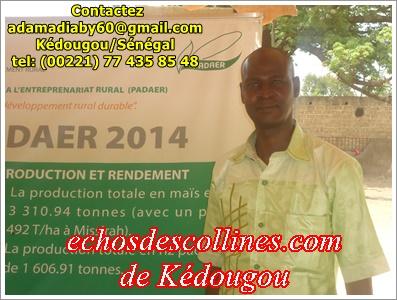 Kédougou: Techno foire régional de Kédougou, le PADAER a été présent