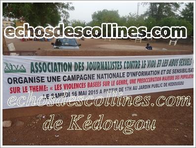 Kédougou: Les journalistes se dressent contre le viol et les abus
