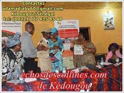 Kaolack: Projet Agro-Ecologie et Résilience d'Actionaid est mis en évaluation