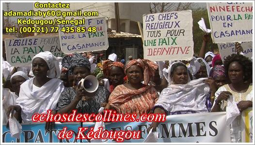 Témoignages: Le retour de la Paix en Casamance, une urgence