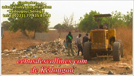 Kédougou: Insalubrité, le maire veut désamorcer la bombe écologique