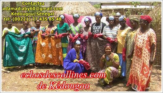 Kédougou: Boye Souaré soutient les femmes de la commune de Dindéfélo