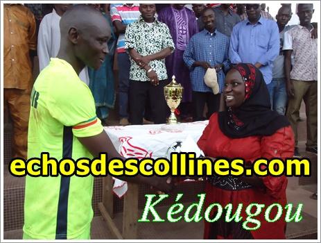 Kédougou: Sadio Dembélé, parrain du tournoi de la fraternité