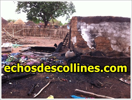 Kédougou: Incendie à Syllacounda, un feu ravage 4 cases et….