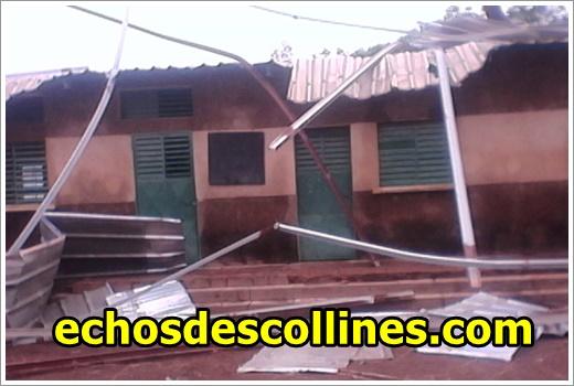 Kédougou: A Dimboli, les toits de deux salles de classe s'envolent