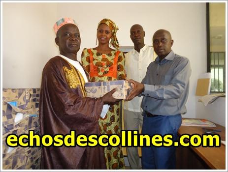 Kédougou: Le maire Mamadou Hadji Cissé soutient les personnes vulnérables