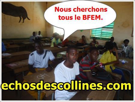 Académie de Kédougou: 1818 candidats à l'assaut du BFEM